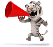 Fun tiger Royalty Free Stock Image