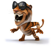 Fun tiger Royalty Free Stock Images