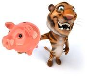 Fun tiger Royalty Free Stock Photo