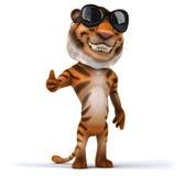 Fun tiger Stock Image