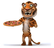 Fun tiger Royalty Free Stock Photography