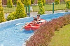 Fun Time in Aqua City. Turkey Stock Images