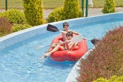 Fun Time in Aqua City. Turkey Royalty Free Stock Photos