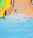 Fun Time in Aqua Park , Izmir Stock Images