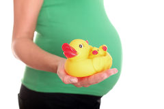 Fun time in Pregnant! Royalty Free Stock Image