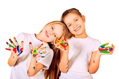 Fun together Royalty Free Stock Photo