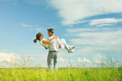 Fun together royalty free stock photography