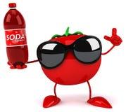 Fun tomato Royalty Free Stock Image