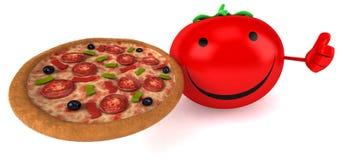 Fun tomato Royalty Free Stock Images
