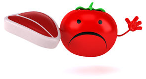 Fun tomato Stock Photography