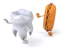 Fun tooth Royalty Free Stock Photos