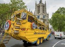Fun vehicle at the city streets Royalty Free Stock Photos