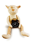 Fun toy cat Stock Photography