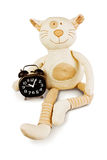 Fun toy cat Royalty Free Stock Image