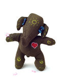 Fun toy elephant with a heart. Stock Photos