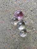 Fun Transparent Water Beads Outdoors Stock Image