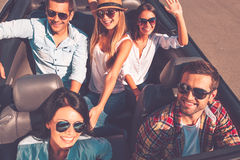 Fun travel. royalty free stock photography