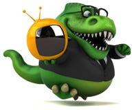 Fun Trex - 3D Illustration Stock Photo