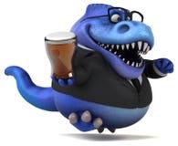 Fun Trex - 3D Illustration vector illustration