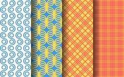 Fun tropical color seamless pattern. Graphic design. Fun tropical color concept seamless pattern. Graphic design. EPS 10 vector Stock Illustration