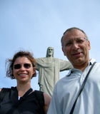 FUN and unusual selfie in Rio De Janeiro Royalty Free Stock Image