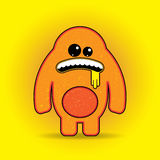 Fun Vector Monster Character. Template for design Stock Images