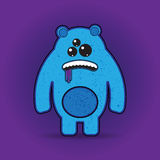 Fun Vector Monster Character. Template for design Royalty Free Stock Image