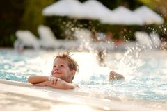 Fun in water Royalty Free Stock Photography