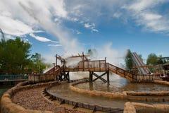 Fun Water Ride Stock Photo