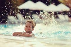 Fun in water Stock Photos