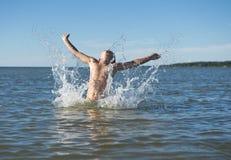 Fun in water Royalty Free Stock Photo
