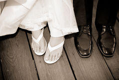 Fun Wedding Image Stock Photo