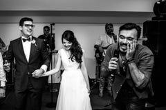 Free Fun Wedding Party Stock Photography - 154721352