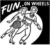 Fun On Wheels Royalty Free Stock Photos