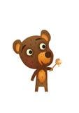 Fun Wild Bear Royalty Free Stock Images