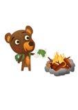 Fun Wild Bear Royalty Free Stock Photography