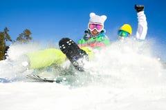 Fun winter holiday Stock Photos