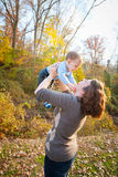 Fun With Mom Royalty Free Stock Photography