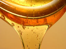 Fun With Syrup - Studies In Viscosity Royalty Free Stock Image