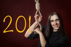 New year noose Stock Images