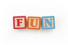 Fun Wooden Blocks Royalty Free Stock Photos