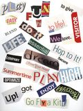 Fun Words! Stock Images