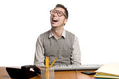 Fun at Work Royalty Free Stock Photo