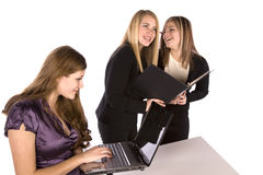 Fun Working In The Office Royalty Free Stock Images