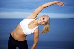 Fun workout Stock Photo