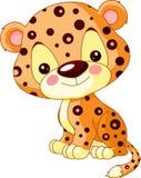 Fun zoo. Jaguar. Fun zoo. Illustration of cute Jaguar Royalty Free Stock Photos