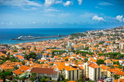 Funchal, île de la Madère, Portugal Images libres de droits