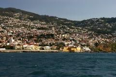 Funchal-Überblick Lizenzfreie Stockbilder