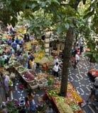 funchal środkowy rynek Madeira zdjęcie stock