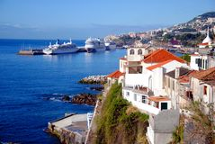 Funchal-Ansicht Stockfotos
